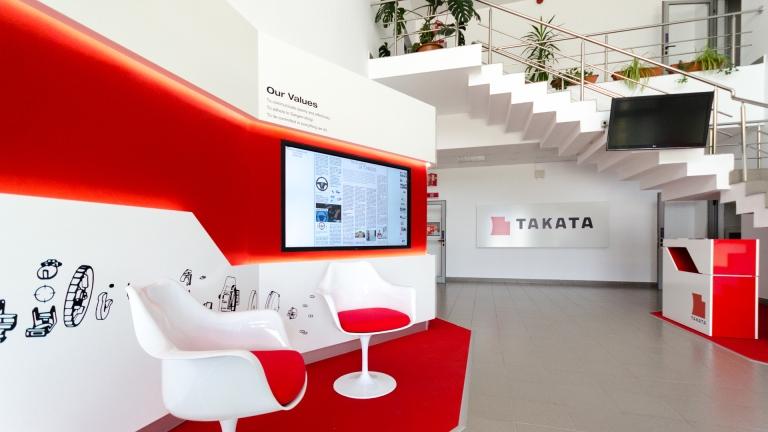 takata showroom automotive design