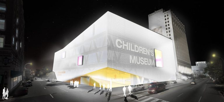 randare de noapte concurs arhitectura muzeul copiilor