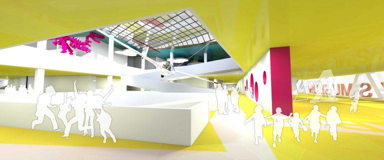 perspectiva interioara 2 concurs arhitectura muzeul copiilor