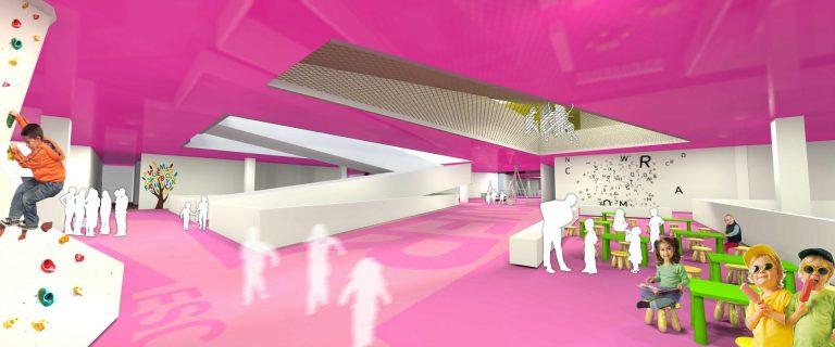 perspectiva interioara 3 concurs arhitectura muzeul copiilor