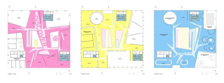 planuri concurs arhitectura muzeul copiilor