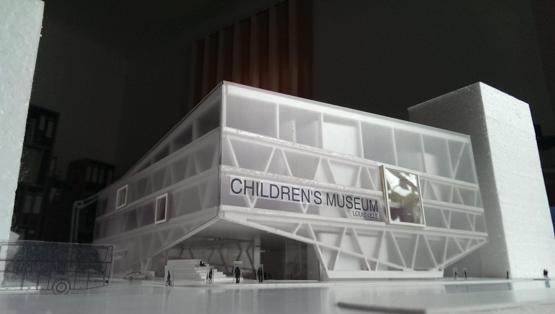 macheta fatada muzeul copiilor concurs international