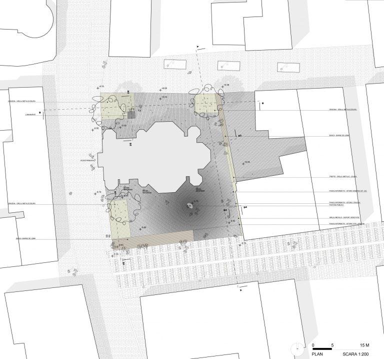 plan concurs urbanism piata sfantul ilie craiova