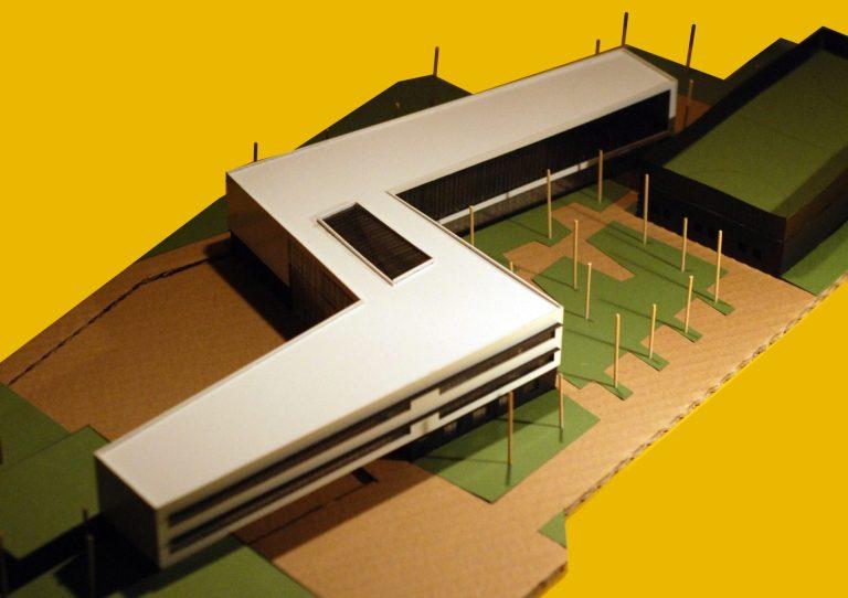 macheta arhitectura scoala
