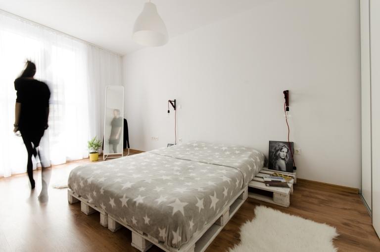dormitor stil scandinav