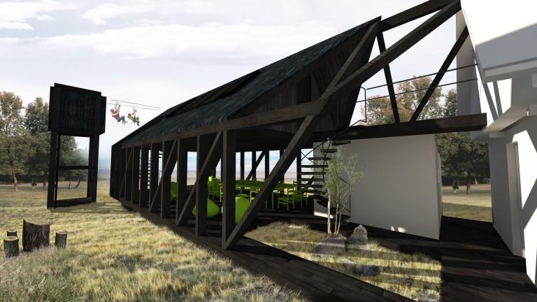 perspectiva concurs arhitectura sky hill dealul cerului