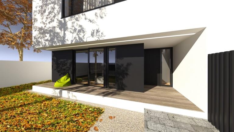 randare acces casa modern minimalist timisoara