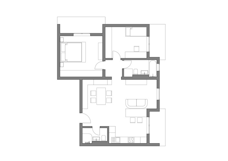 plan amenajare apartament timisoara